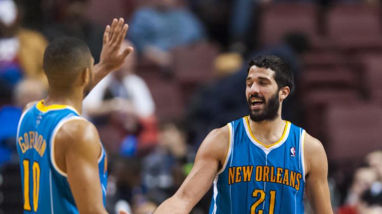 NBA: New Orleans Hornets at Philadelphia 76ers