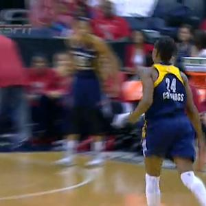 Tamika Catchings' Smooth Spin Move