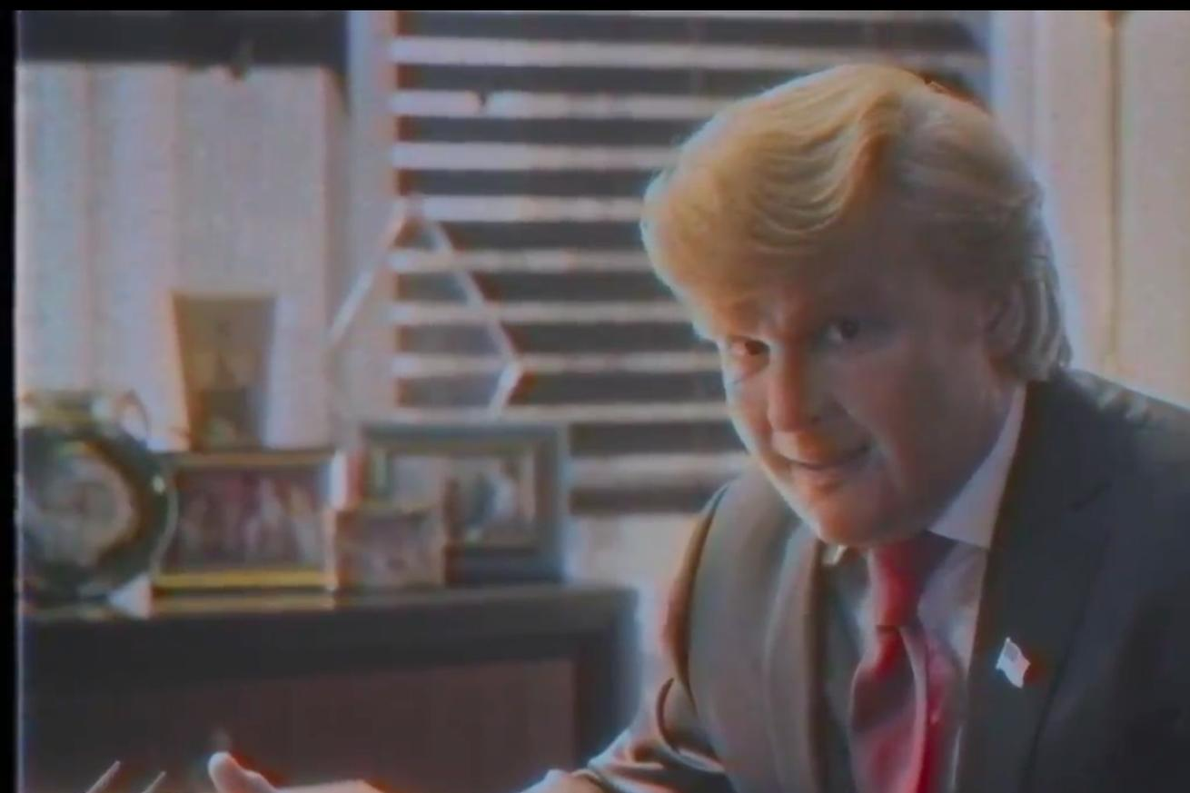 Johnny Depp plays a spot-on Donald Trump in a surprise Funny or Die mockumentary