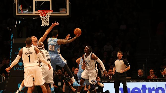 NBA: Denver Nuggets at Brooklyn Nets