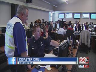 Disaster drill tests readiness