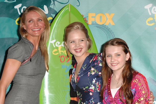 2009 Teen Choice Awards Cameron Diaz Sofia Vassilieva Abigail Breslin