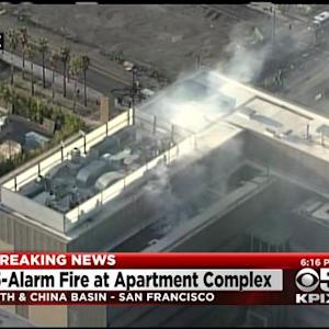 Embers From Mission Bay Construction Fire Spread To UCSF Facility