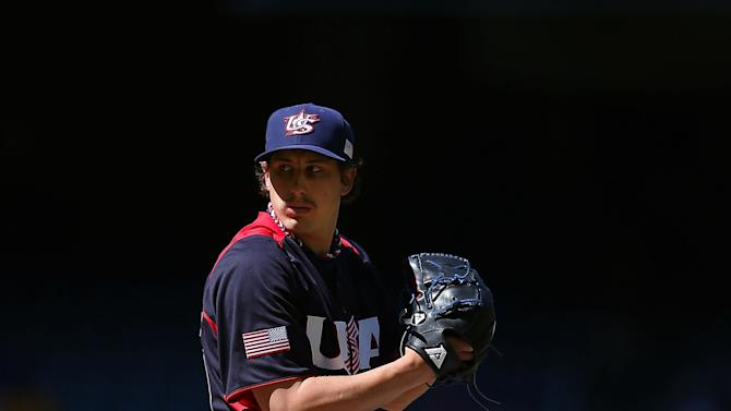 USA v Canada - World Baseball Classic - First Round Group D