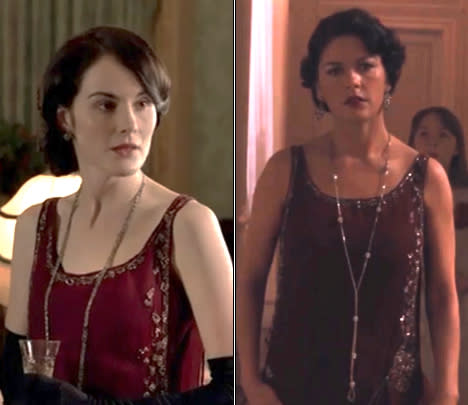 Lady Mary vs. Catherine Zeta-Jones