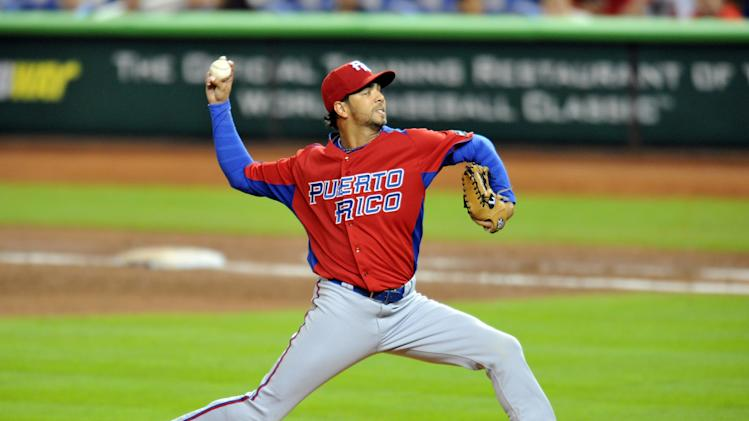 Baseball: World Baseball Classic-Puerto Rico at United States