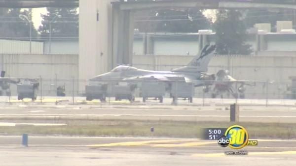 "Fresno F-16s on ""safety stand down"" after crash"
