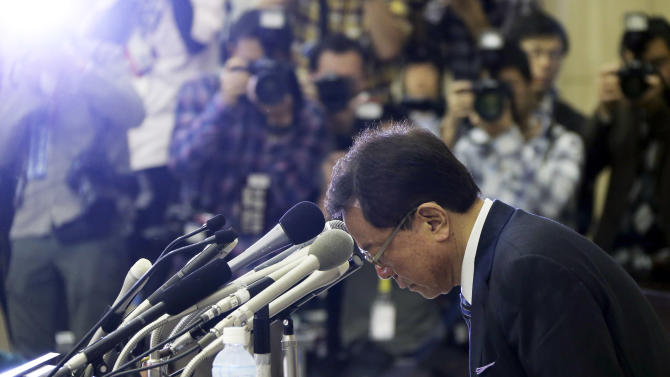 Tokyo governor who helped get Olympics resigns
