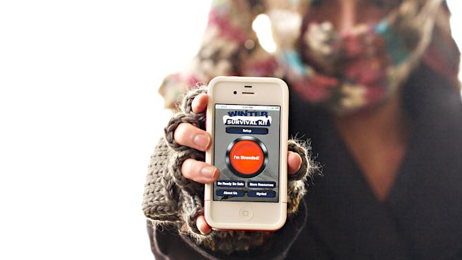 Summary Box: Phone app aims to help winter drivers