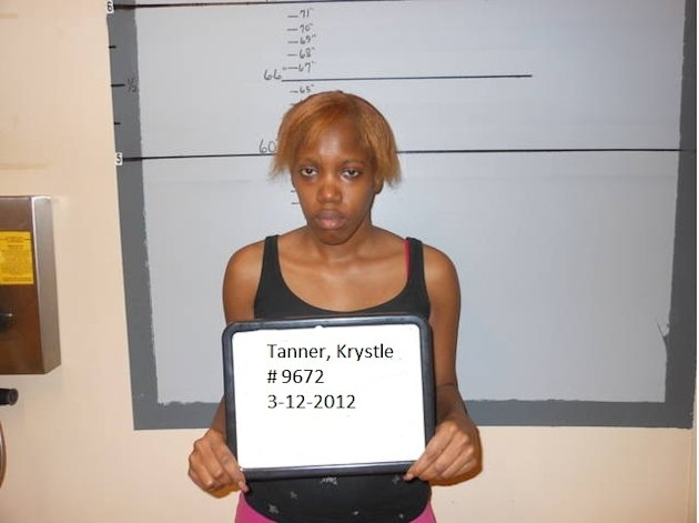 FILE - This March 12, 2012 booking photo provided by the San Augustine Sheriff's Office shows Krystle Rochelle Tanner. Jurors in San Augustine, Texas, on Tuesday, Feb. 19, 2013 found Tanner and her mother, Gloria Walker, guilty of kidnapping Miguel Morin, now 8, who disappeared in 2004. Walker also was found guilty of injury to a child, while the jury found Tanner guilty of a lesser charge of reckless injury to a child. (AP Photo/San Augustine Sheriff's Office, File)