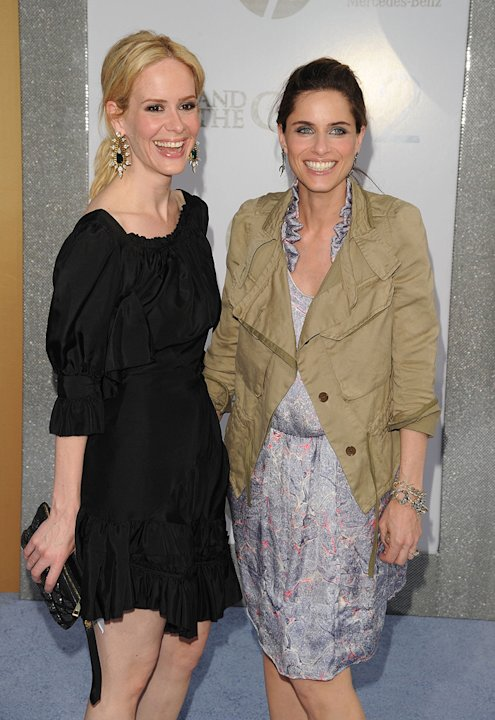 Sex and the City 2 NY Premiere 2010 Amanda Peet Sarah Paulson