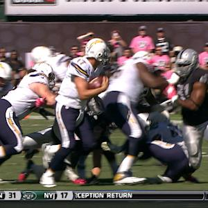 San Diego Chargers quarterback Philip Rivers calm under duress
