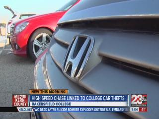 Bakersfield College car theft ring