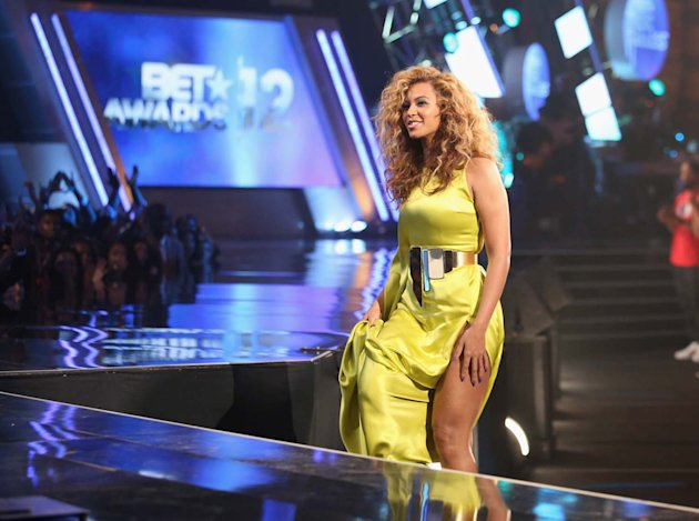 Beyonce en BET Awards 2012