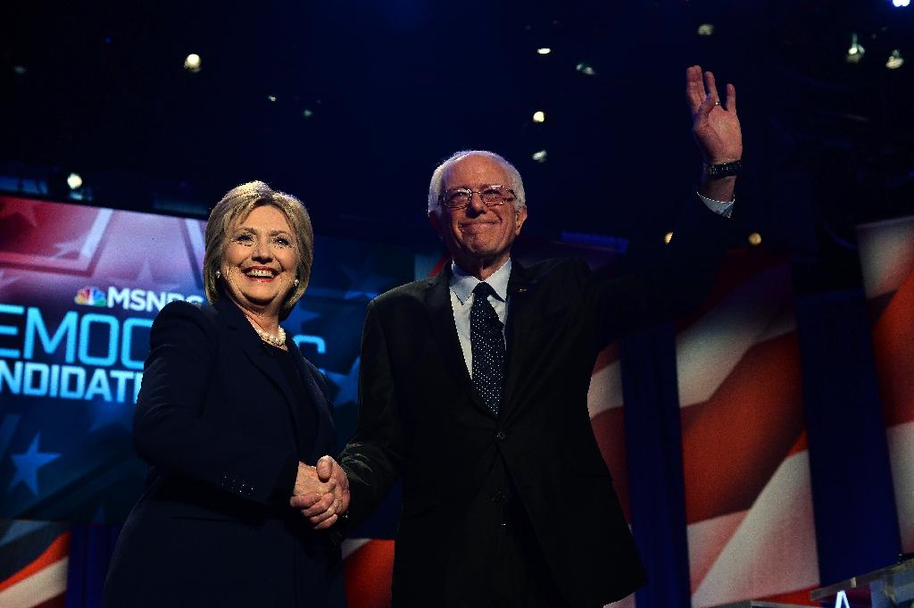 Sanders, Clinton neck-and-neck in White House contest: poll