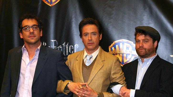 2010 ShoWest Todd Phillips Robert Downey Jr. Zach Galifanakis