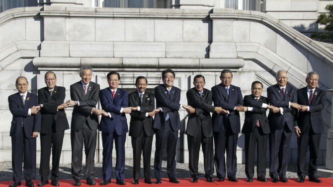 Japan, ASEAN vow to ensure freedom of navigation