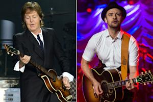 Paul McCartney, Justin Timberlake Shutting Down Hollywood Boulevard