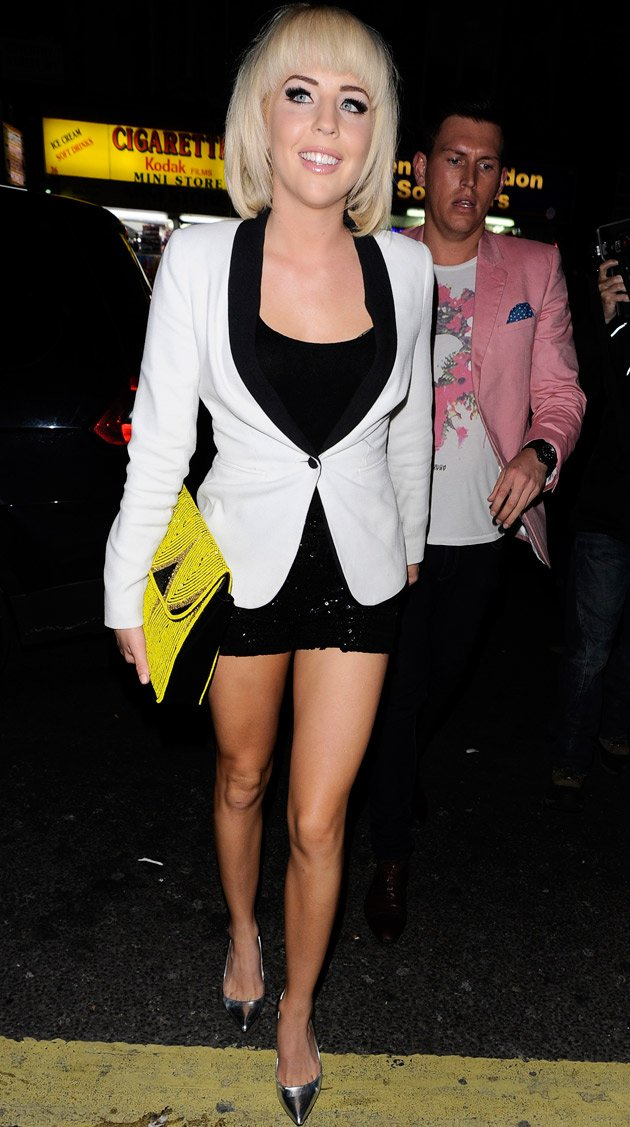 Lydia Bright, TOWIE, hotpants