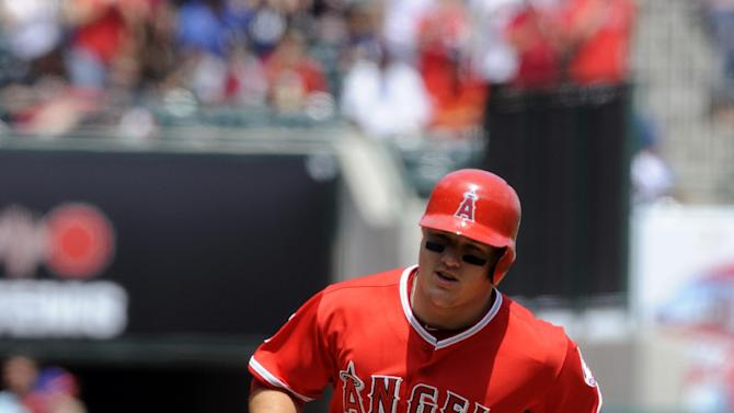 Angels hit 4 HRs off Colon in 14-2 rout of Mets