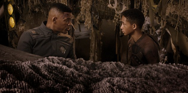 "Will Smith and Jaden Smith in Columbia Pictures' ""After Earth"" - 2013"