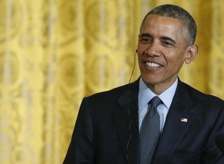 Obama says will sign bill allowing Congress to review Iran deal