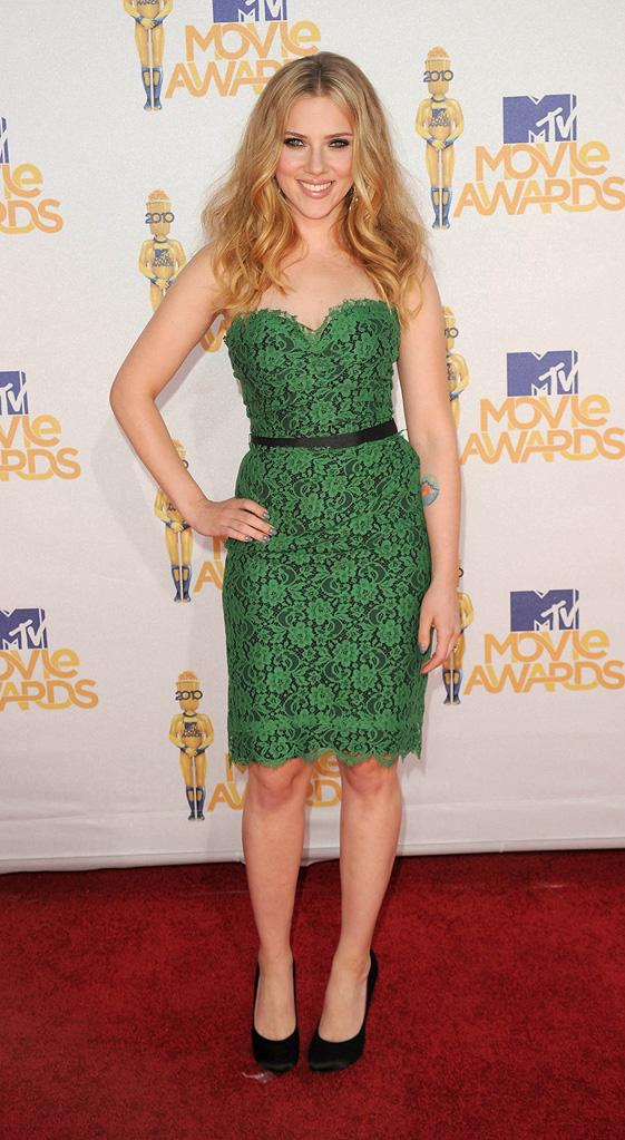 Fashion Report Card MTV Movie Awards 2010 Scarlett Johansson