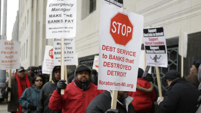 Detroit bankruptcy decision puts pensions at risk