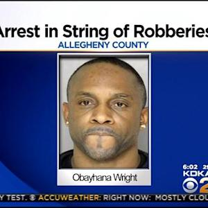 Man Arrested For String Of Robberies In Allegheny County
