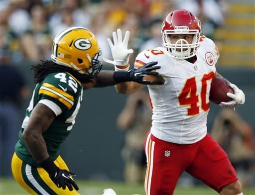 Harrell has big night, Packers beat Chiefs 24-3