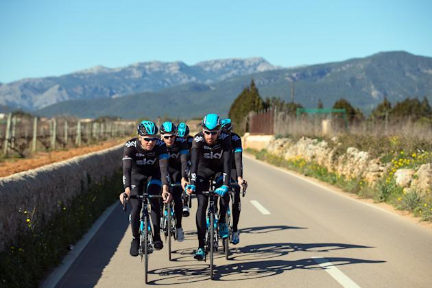 Team Sky Training Camp