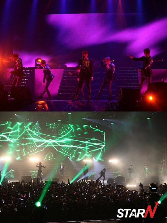 Beast finished their concert in Indonesia with a blast