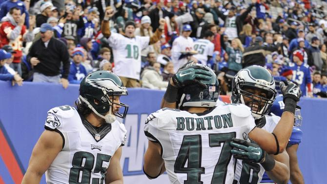 Different prospects for Eagles and Giants in '15