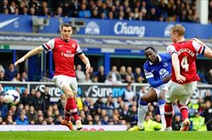 Wenger concedes top-four finish 'will be difficult' after Everton loss
