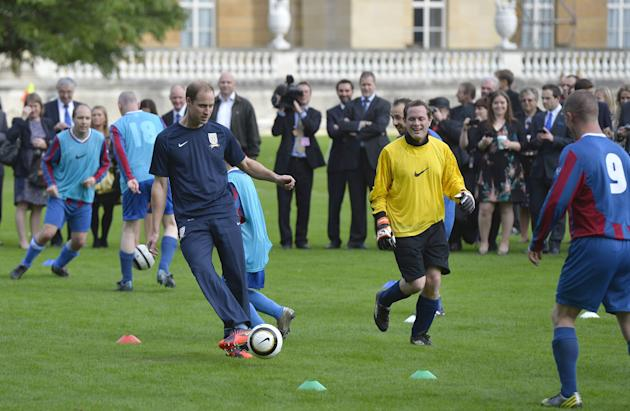 Buckingham Palace Hosts Its First Football Match To Celebrate 150 Years Of The Football Association