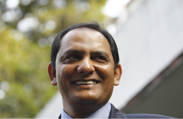 Former Indian cricket captain Mohammad Azharuddin