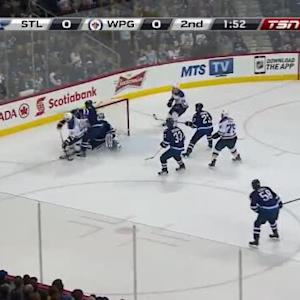 Blues at Jets / Game Highlights