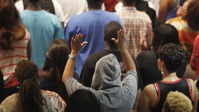 Worshippers Attend Church Services in Miami After Zimmerman Verdict