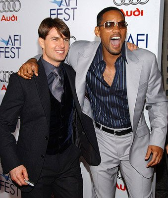 Tom Cruise and Will Smith at the AFI Fest opening night gala presentaion of United Artists' Lions for Lambs