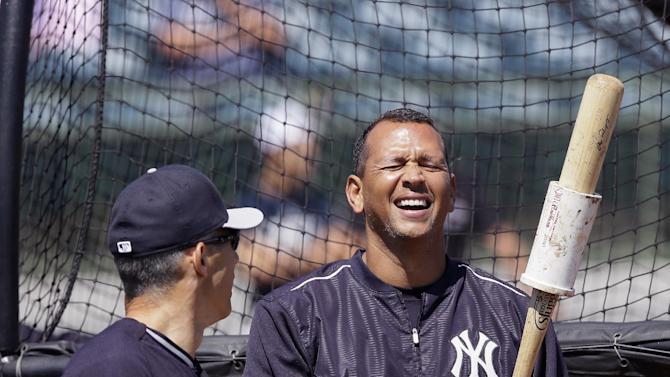A-Rod debut at first base as Yanks beat Astros 7-0