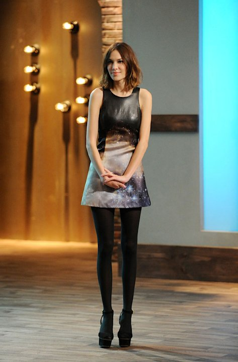 "Model and television personality Alexa Chung hosts ""24 Hour Catwalk."""