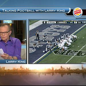 Larry King attempts sports highlights
