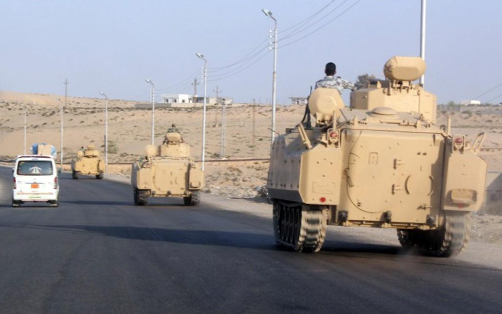Egypt army: 172 Sinai militants killed in February