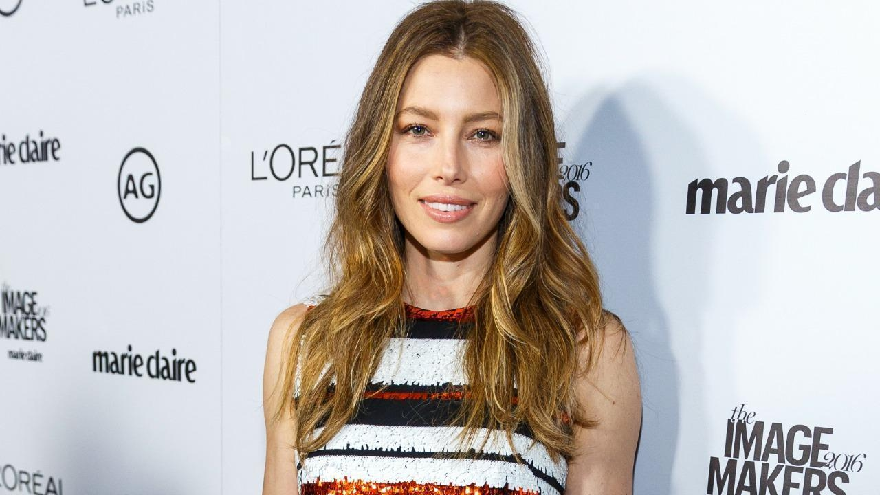 Jessica Biel Shares Makeup-Free Photo With Baby Silas