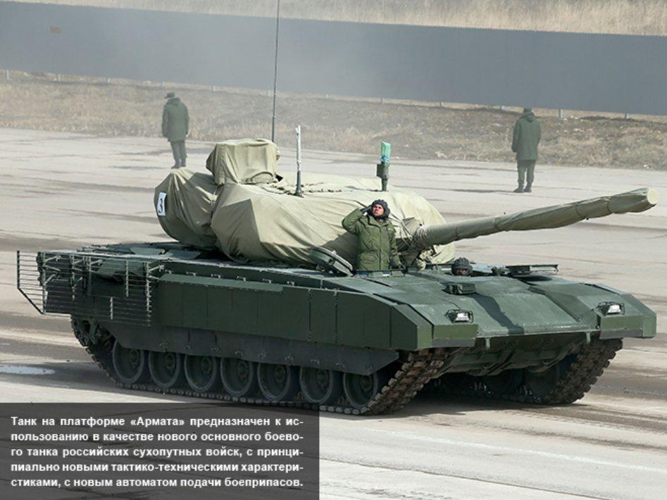 Russia just unveiled its new Armata battle tank