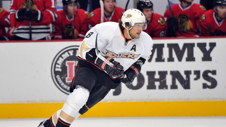 NHL: Anaheim Ducks at Chicago Blackhawks