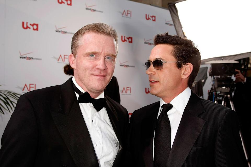 AFI Life Achievement Award 2008 Anthony Michael Hall Robert Downey Jr