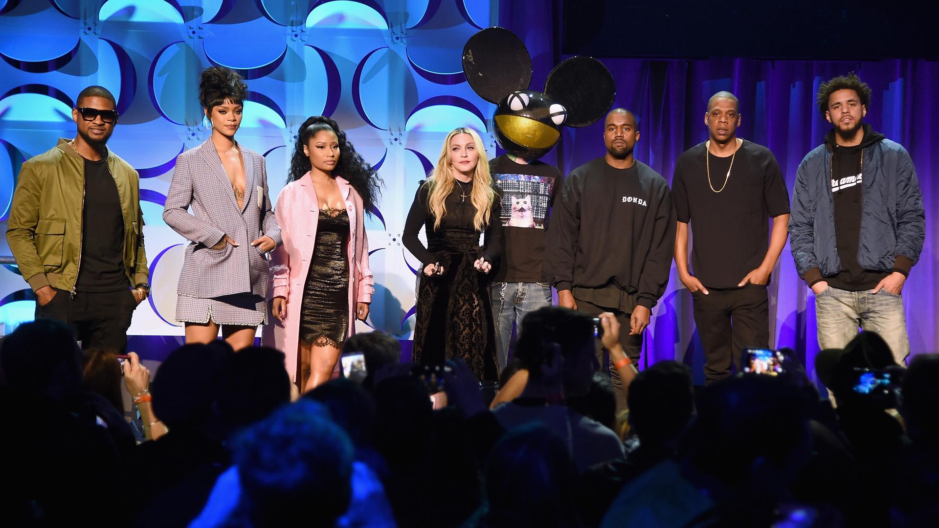 Jay Z Launches Tidal Streaming-Music Service at Star-Studded Event