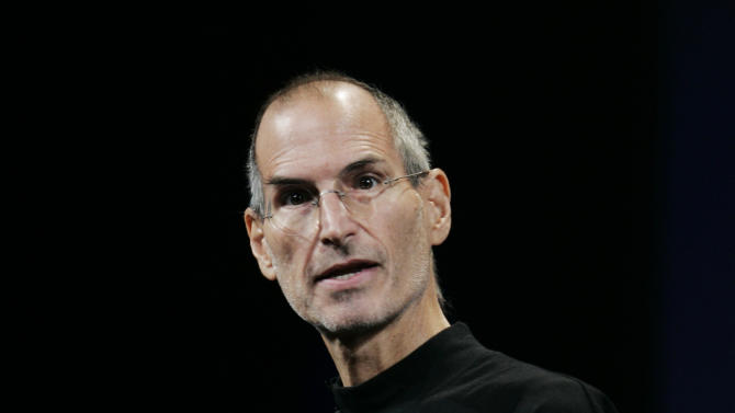 """FILE - This Sept. 9, 2009 file photo shows Apple CEO Steve Jobs at an Apple event in San Francisco. The 18th edition of """"Bartlett's Familiar Quotations,"""" has just been released, the first for the electronic age and a chance to take in some of the new faces, events and catchphrases of the past 10 years. General editor Geoffrey O'Brien says he has expanded upon the trend set by his predecessor, Justin Kaplan, of incorporating popular culture into an anthology once known for classical citations. Shakespeare and the Bible still reign, but room also has been made for Steve Jobs, Madonna and Michael Moore, Justin Timberlake and Jon Stewart. (AP Photo/Paul Sakuma, file)"""