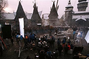 The set of Universal's Van Helsing